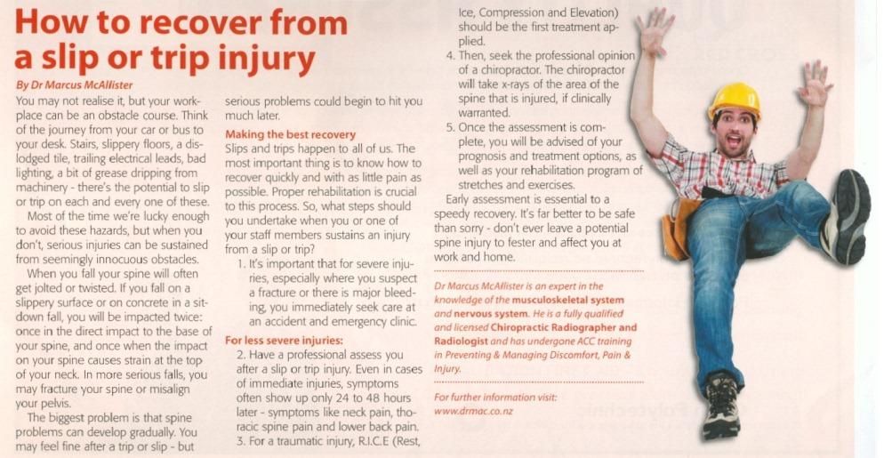 Dr Mac Chiropractic 4th ISN Article
