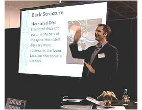 Dr Marcus McAllister speaking at the National Safety Show – Sept 2011